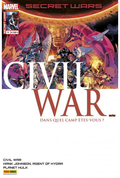 Marvel secret wars civil war 5 1