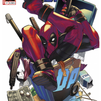 Marvel SECRET WARS - DEADPOOL 4