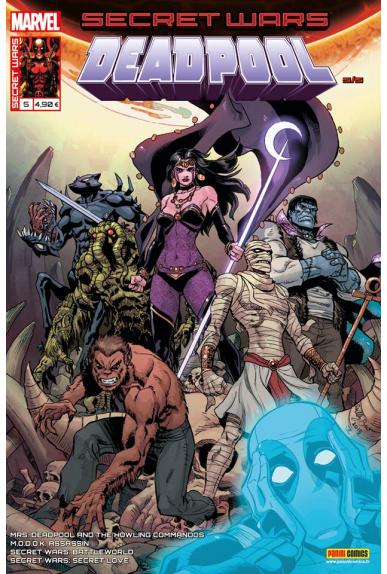 Marvel secret wars deadpool 5 1