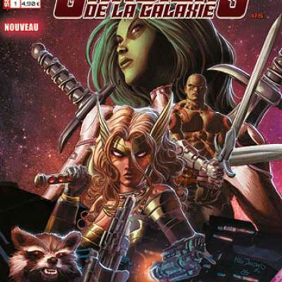Marvel SECRET WARS - LES GARDIENS DE LA GALAXIE 1