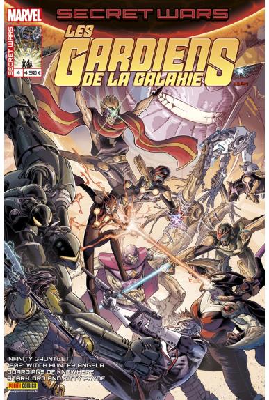 Marvel secret wars les gardiens de la galaxie 4