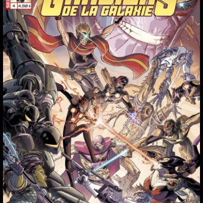Marvel SECRET WARS - LES GARDIENS DE LA GALAXIE 4