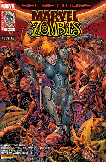 Marvel secret wars marvel zombies 1