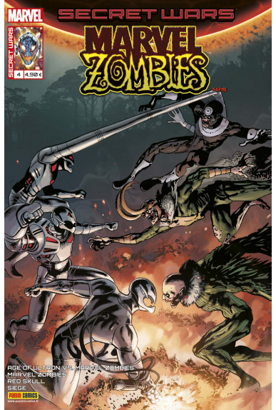 Marvel secret wars marvel zombies 4