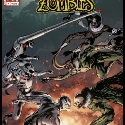 Marvel SECRET WARS - MARVEL ZOMBIES 4