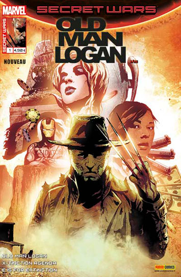 Marvel secret wars old man logan 1