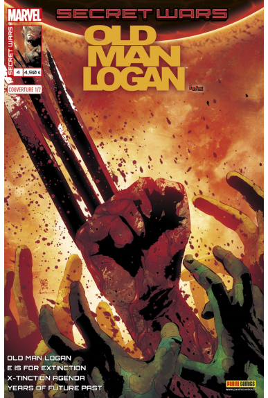 Marvel secret wars old man logan 4 couverture 1 2 andrea sorrentino
