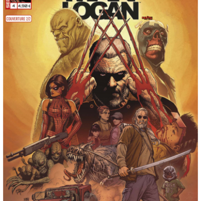 Marvel SECRET WARS - OLD MAN LOGAN 4 Couverture 2/2 Steve McNiven