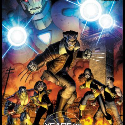 Marvel SECRET WARS - OLD MAN LOGAN 5 couv Arthur Adams PCE