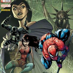 Marvel secret wars spider man 1 adam kubert 1 2