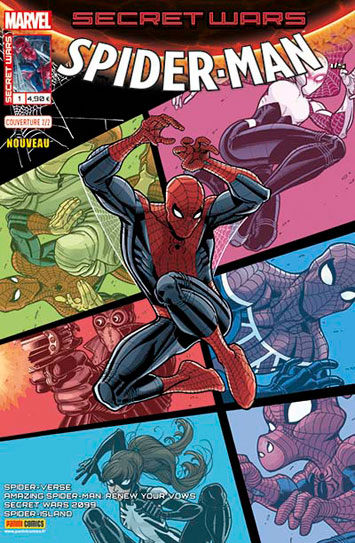 Marvel secret wars spider man 1 humberto ramos 2 2