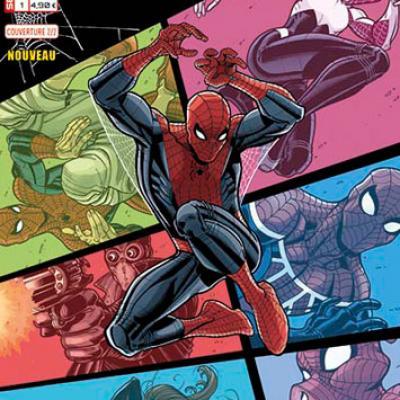 Marvel SECRET WARS - SPIDER-MAN 1 Humberto Ramos 2/2
