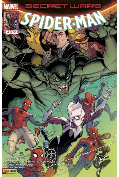 Marvel secret wars spider man 4