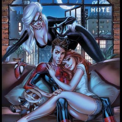 Marvel SECRET WARS - SPIDER-MAN 5 couv Jeffrey Scott PCE