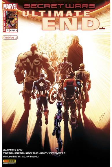 Marvel secret wars ultimate end 5 couverture 1 2 mark bagley 1