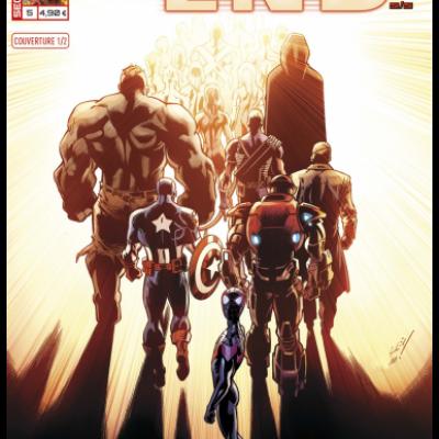 Marvel SECRET WARS - ULTIMATE END 5 couverture 1/2 Mark Bagley