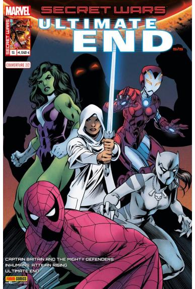 Marvel secret wars ultimate end 5 couverture 2 2 alan davis 1