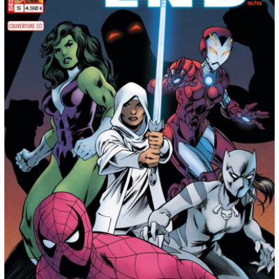 Marvel SECRET WARS - ULTIMATE END 5 couverture 2/2 Alan Davis
