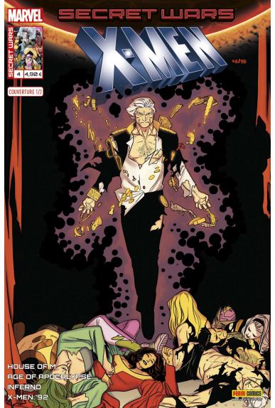 Marvel secret wars x men 4 couverture 1 2 kris anka