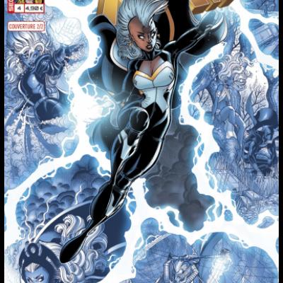 Marvel SECRET WARS - X-MEN 4 Couverture 2/2 Nick Bradshaw