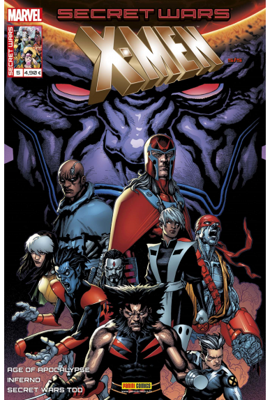 Marvel secret wars x men 5 1