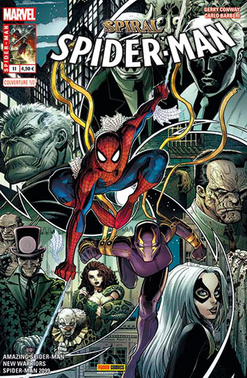 Marvel spider man 11 couverture 1 2 art adams