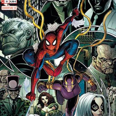 Marvel - SPIDER-MAN 11 - Couverture 1/2 - Art Adams