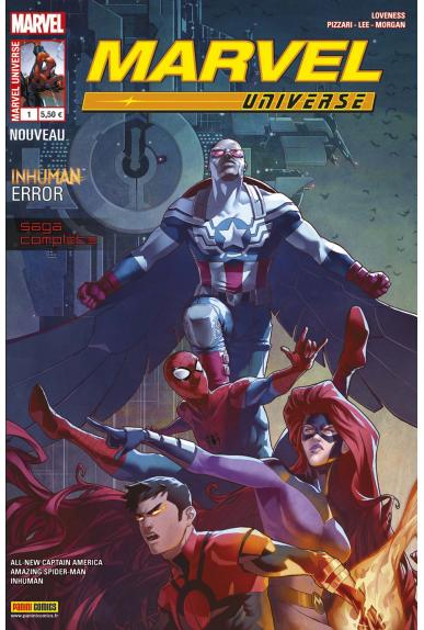Marvel universe 1 2016 inhuman error panini kiosque jpg
