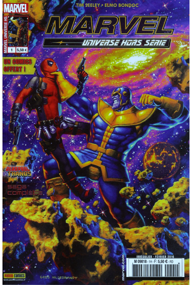 Marvel universe hors serie 1 deadpool vs thanos panini kiosque jpg