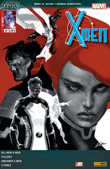 Marvel x men 29 le vortex noir 4 sur 7
