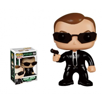 Matrix figurine pop agent smith vinyl figure 10cm
