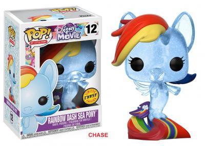 My LITTLE PONY - Funko POP Movie - Rainbow Dash Sea Pony Vinyl Figure 10cm Chase