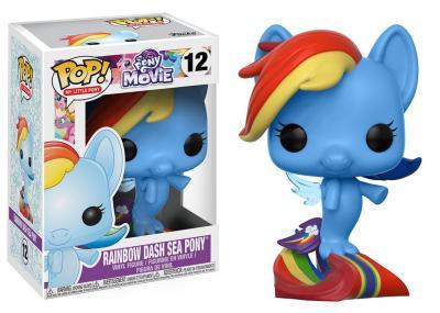 My LITTLE PONY - Funko POP Movie - Rainbow Dash Sea Pony Vinyl Figure 10cm
