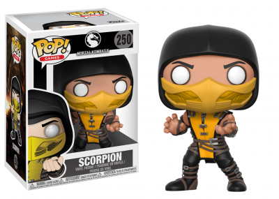 MORTAL KOMBAT - Funko POP Games - SCORPION Vinyl Figure 10cm