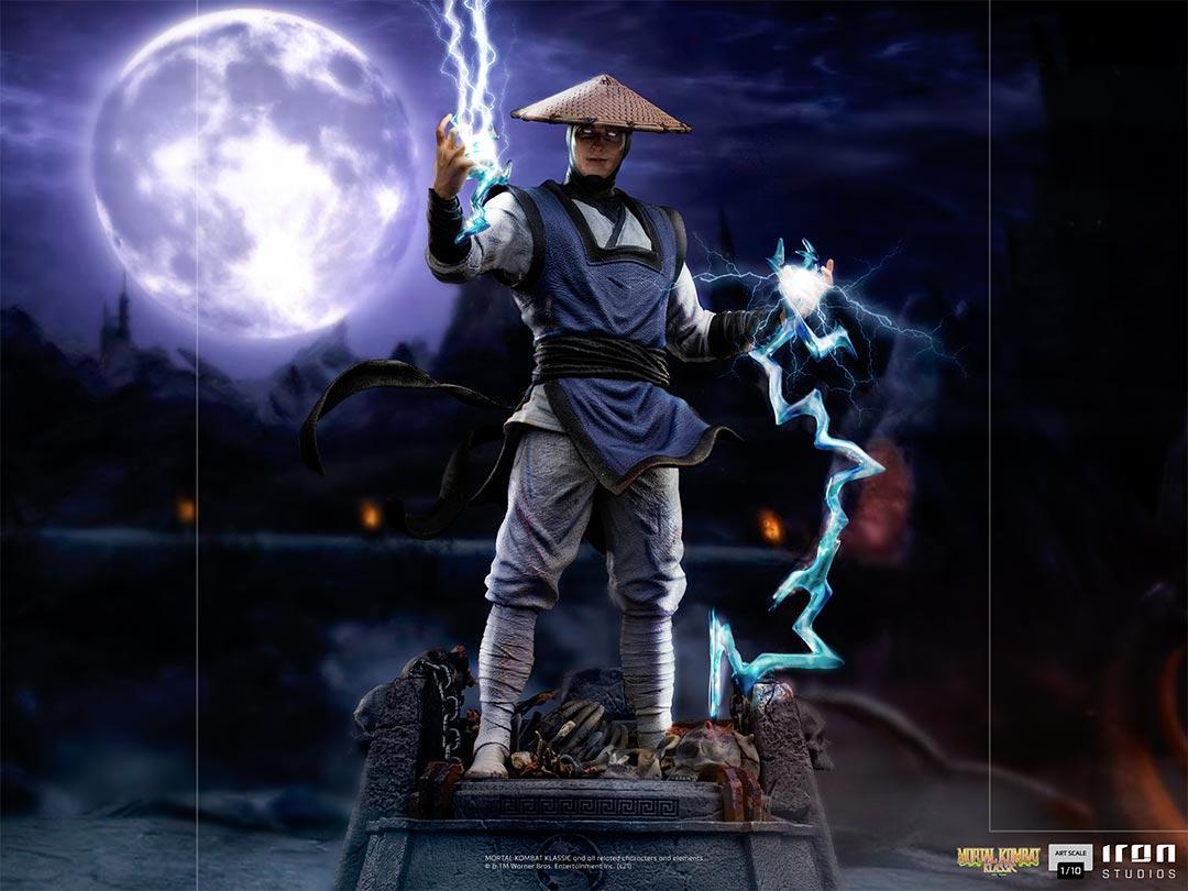 Mortal kombat raiden art scale 1 1010