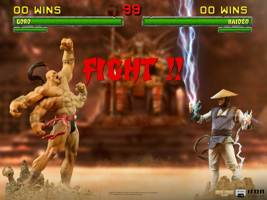 Mortal kombat raiden art scale 1 1011