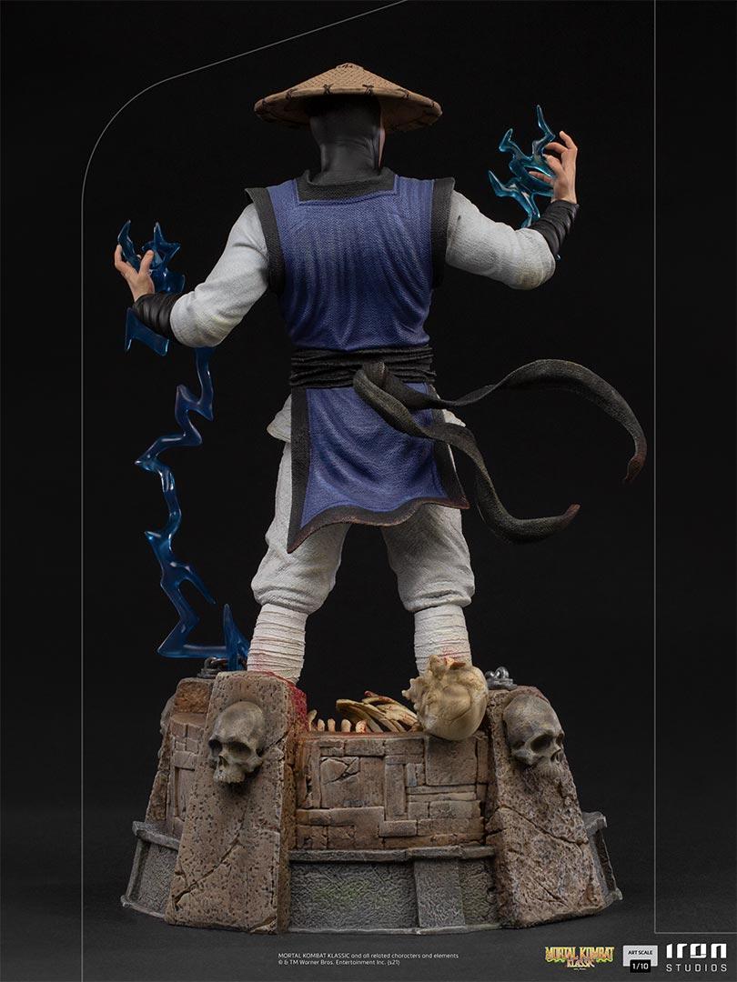 Mortal kombat raiden art scale 1 103