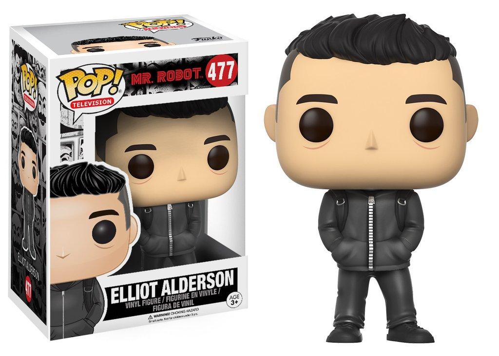 Mr robot pop television elliot alderson vinyl figure 10cm