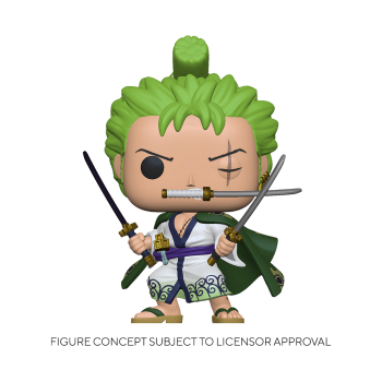 ONE PIECES - FUNKO POP - Roronoa Zoro 10cm