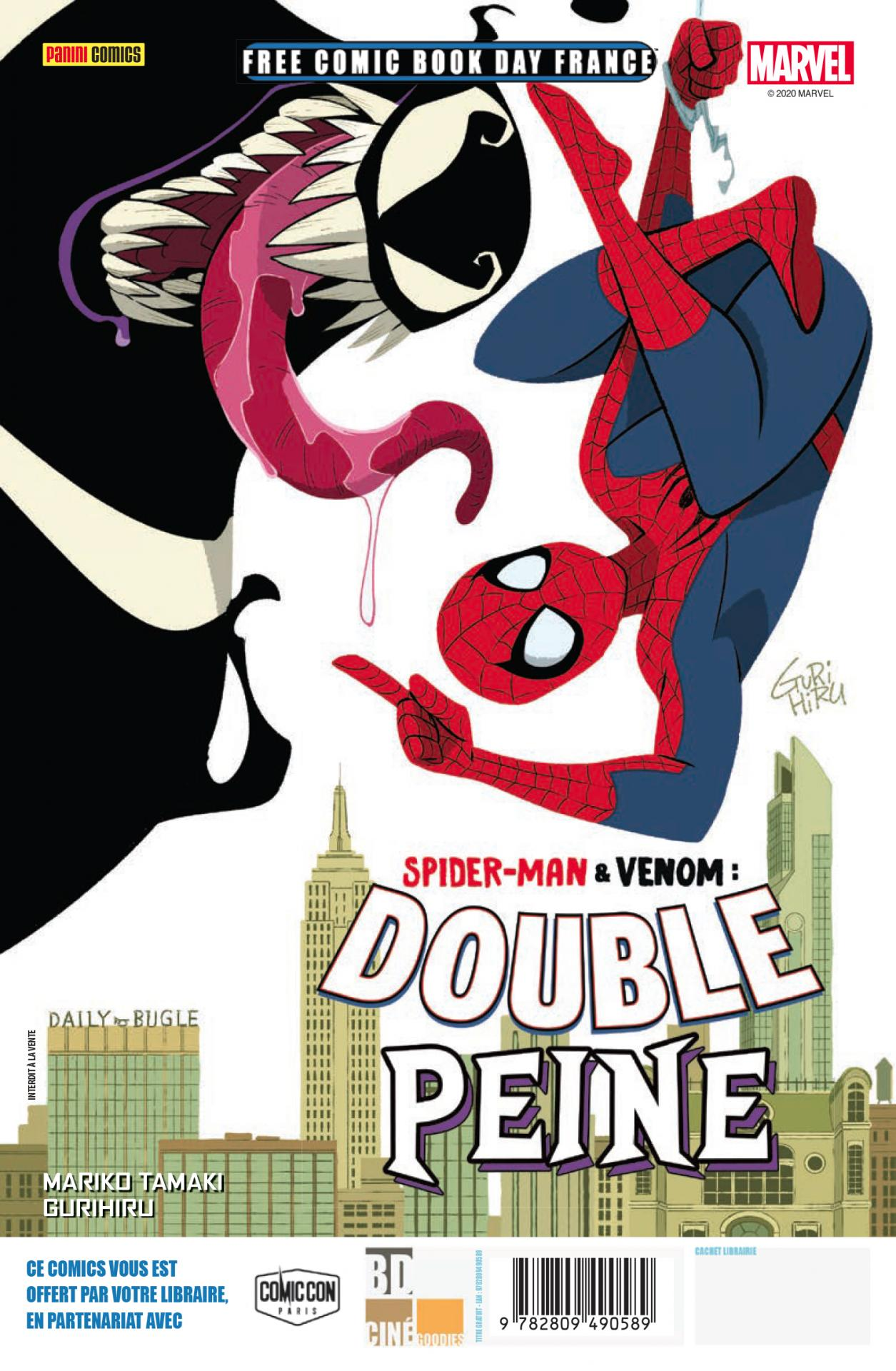 Panini comics fcbd france 2020 spider man venom double trouble