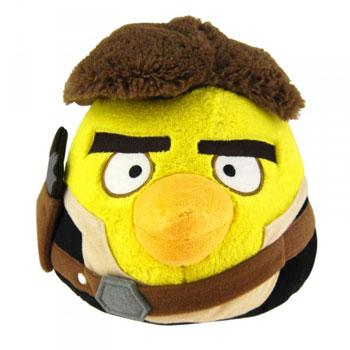 STAR WARS Angry Birds Peluche Han Solo 20cm