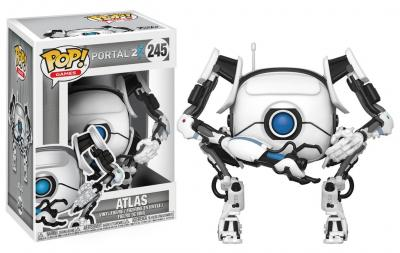 PORTAL 2 - Funko POP Games - ATLAS Vinyl Figure 10cm