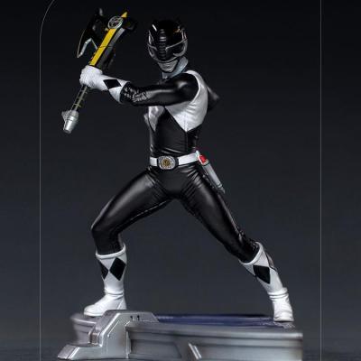 POWER RANGERS - IRON STUDIOS - Black Ranger