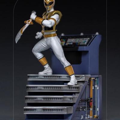 POWER RANGERS - IRON STUDIOS - White Ranger