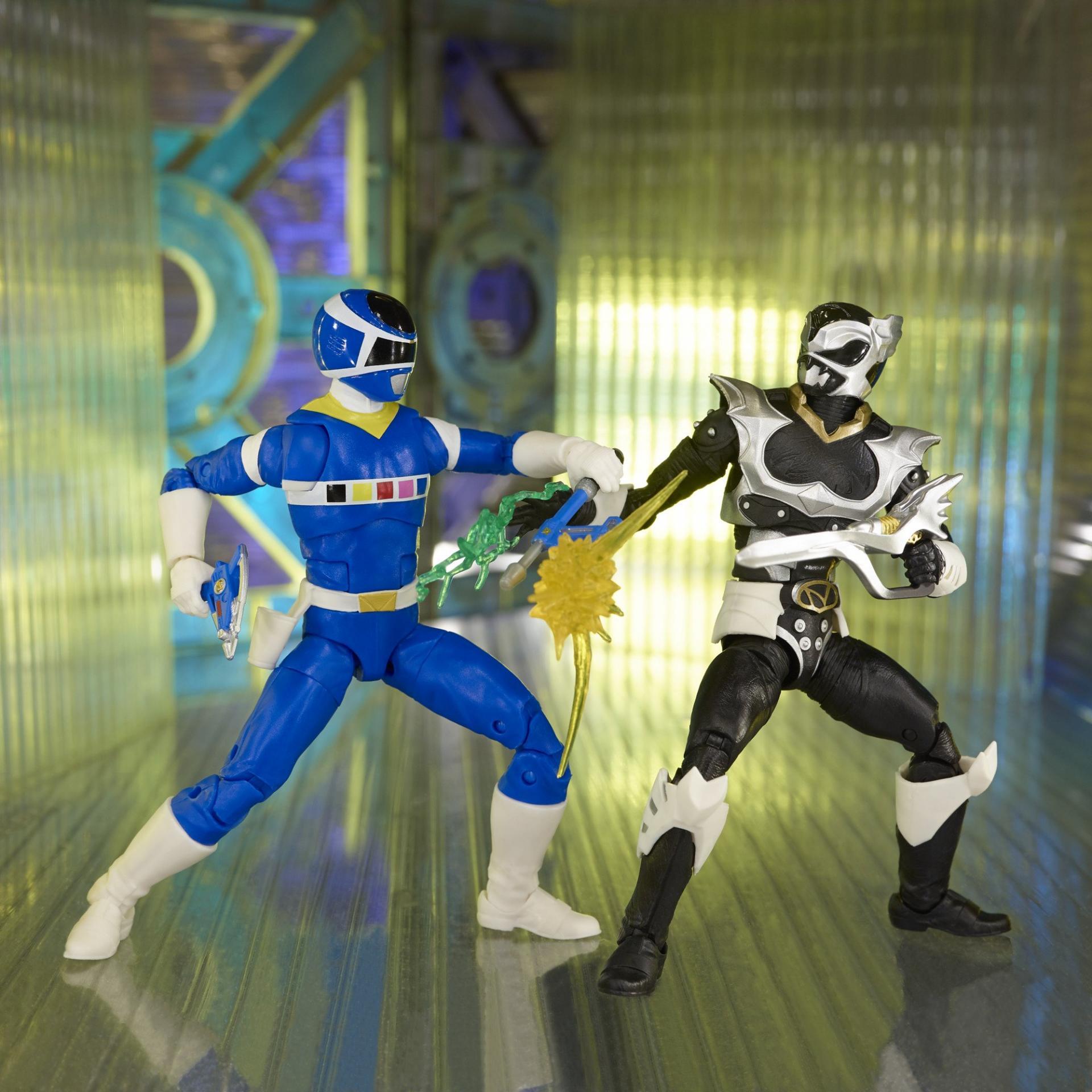 Power rangers lightning collection blue ranger vs silver psycho ranger 15cm2