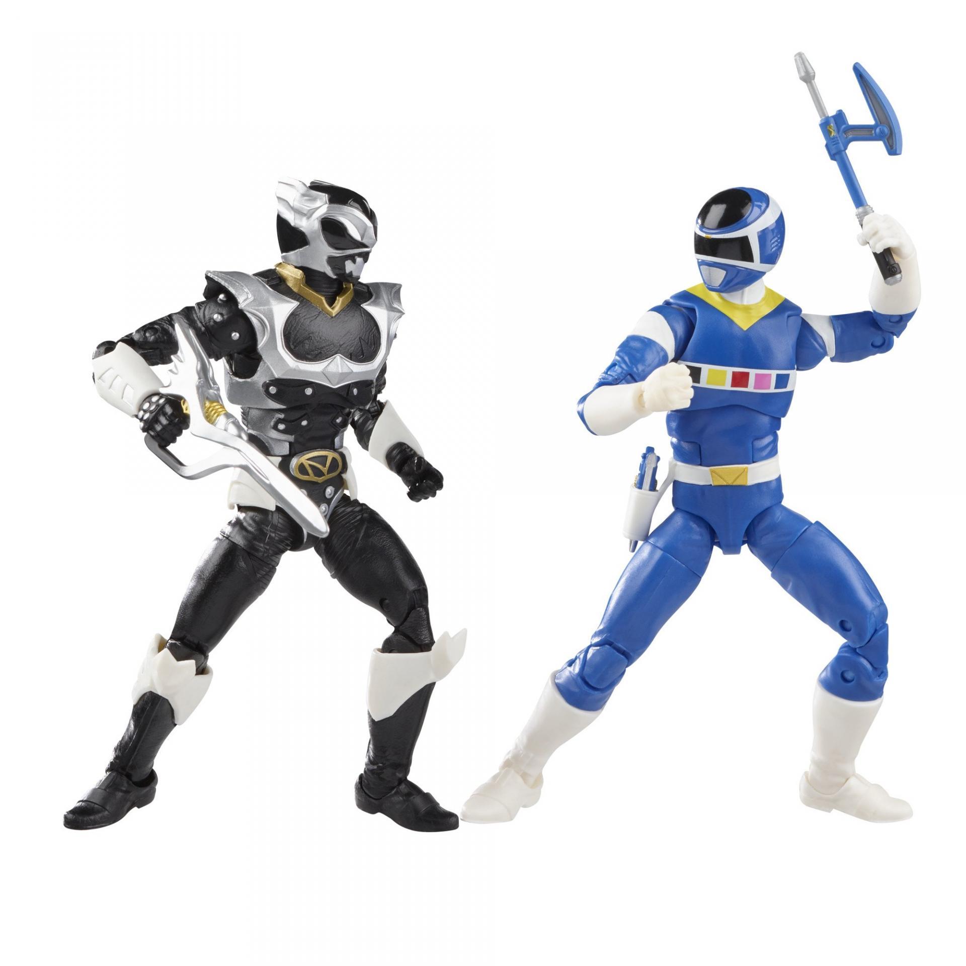Power rangers lightning collection blue ranger vs silver psycho ranger 15cm4