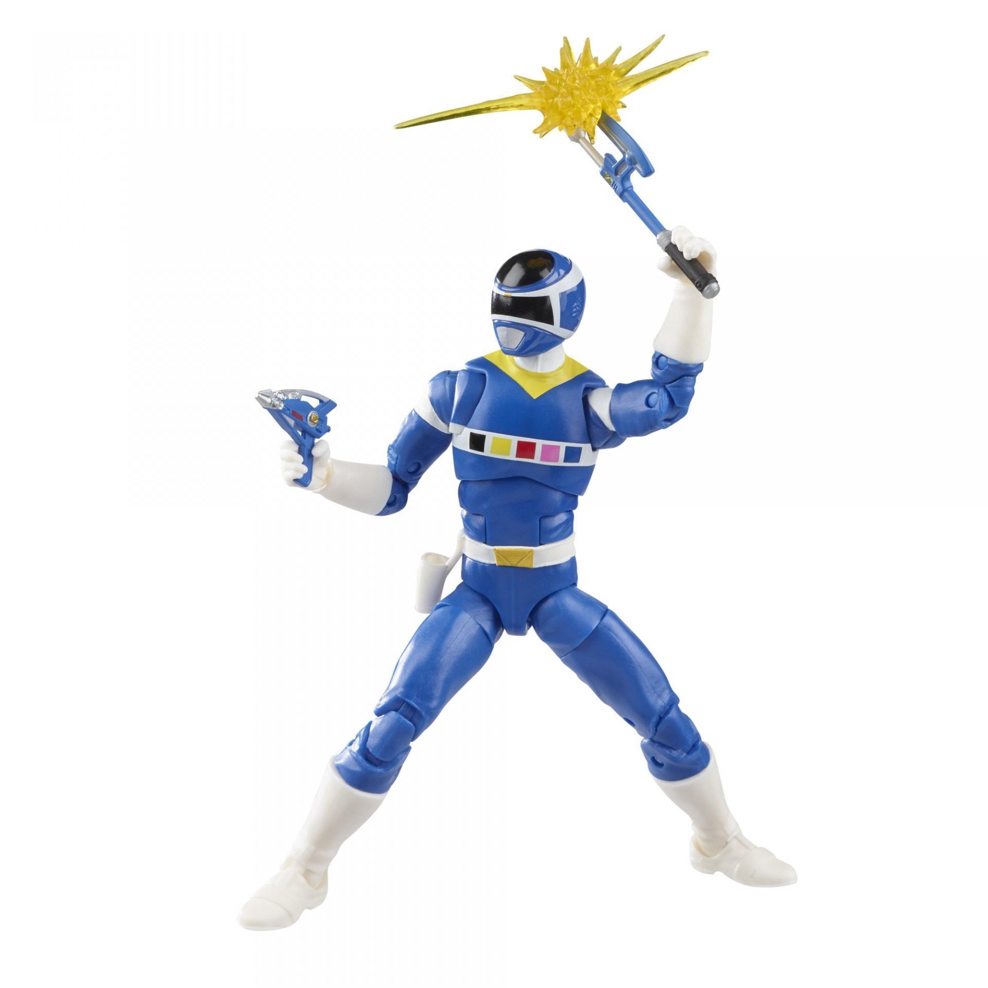 Power rangers lightning collection blue ranger vs silver psycho ranger 15cm8