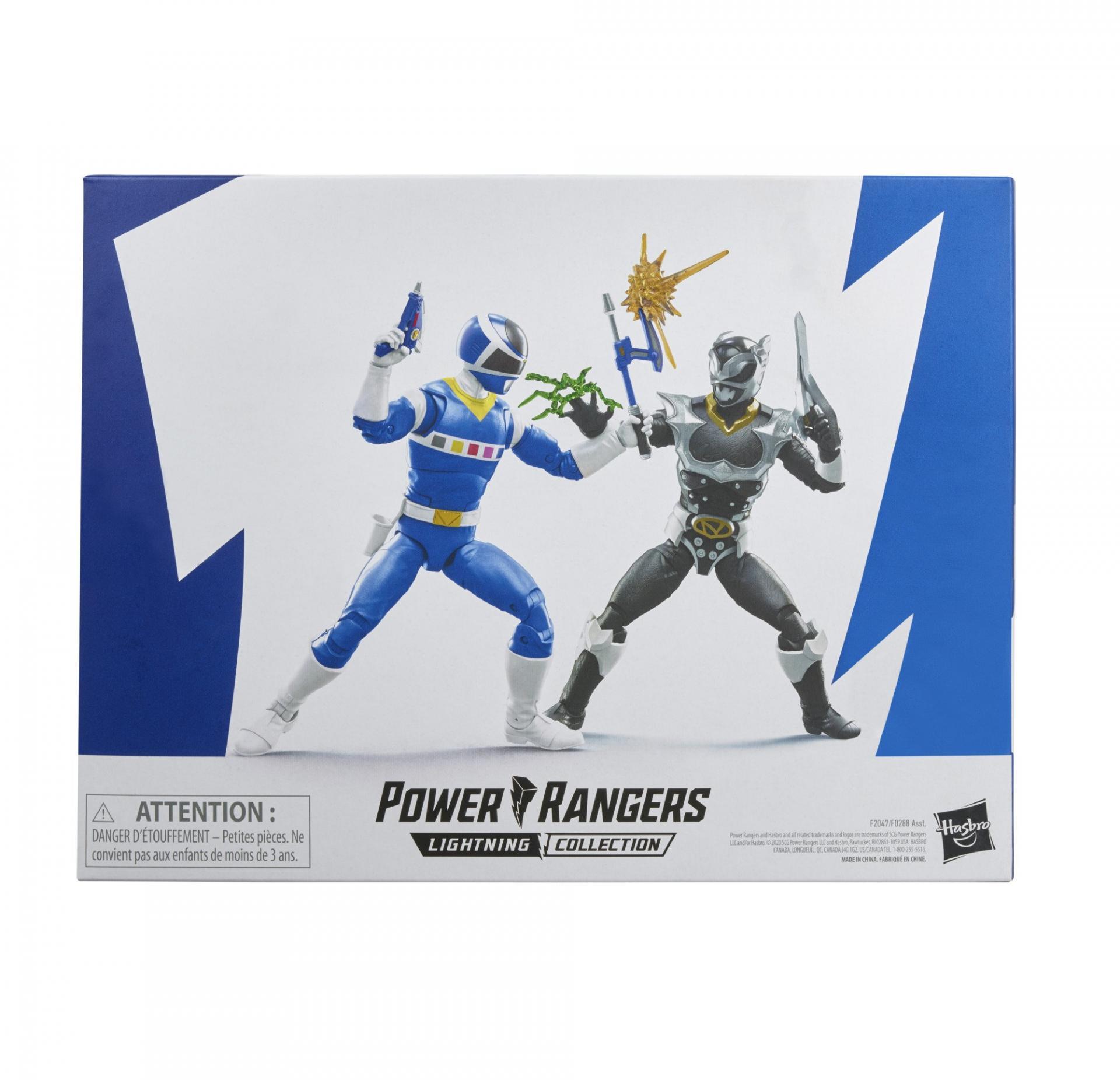 Power rangers lightning collection blue ranger vs silver psycho ranger 15cm9