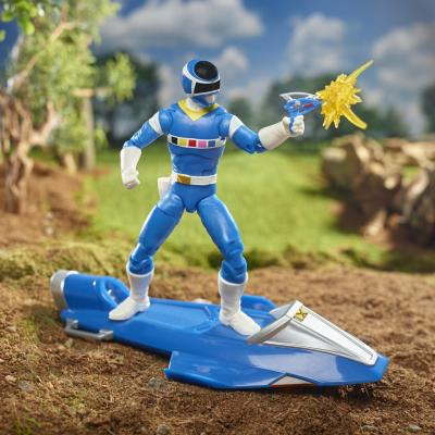 Power Rangers - Lightning Collection - In Space Blue Ranger & Galaxy Glider