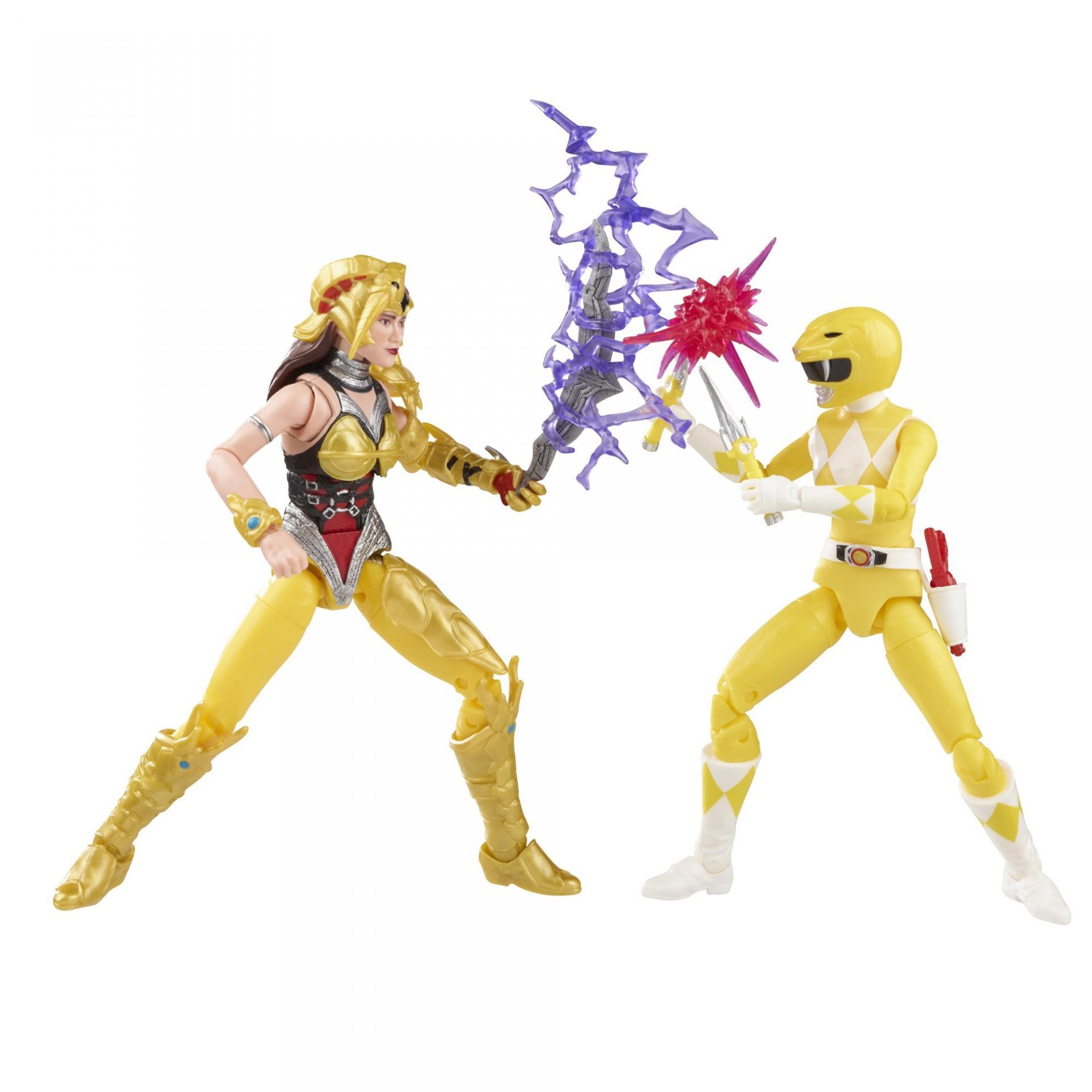 Power rangers lightning collection mighty morphin yellow ranger vs scorpina 15cm4